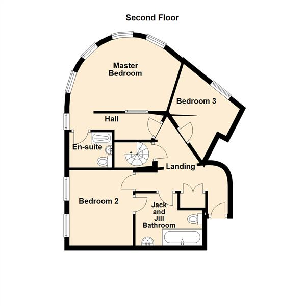 Floor Plan Image for 3 Bedroom Maisonette for Sale in Grey Street, Newcastle Upon Tyne