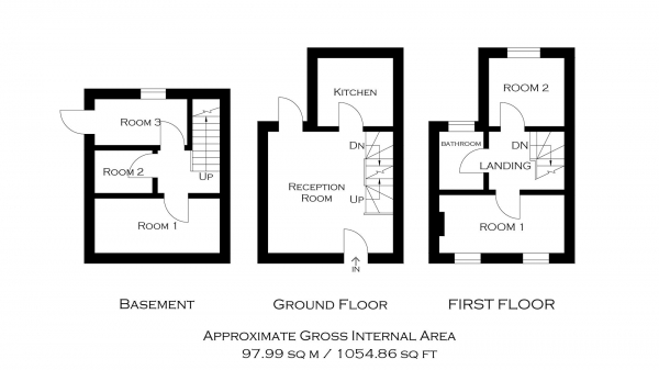 Floor Plan Image for 5 Bedroom End of Terrace House for Sale in Old Ford Road, Bow E3