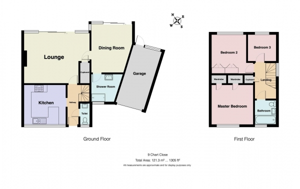 Floor Plan Image for 3 Bedroom Semi-Detached House for Sale in Chart Close, Shortlands, Bromley, BR2