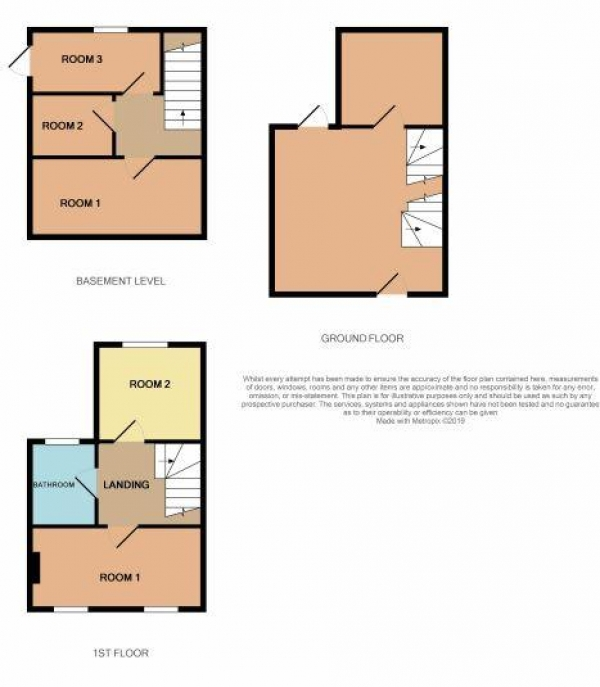 Floor Plan Image for Commercial Property for Sale in Old Ford Road, London