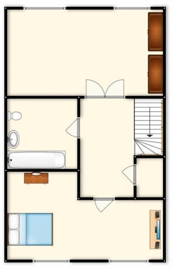 Floor Plan Image for 4 Bedroom Terraced House for Sale in Bandy Fields Place, 'M7', Salford, Manchester