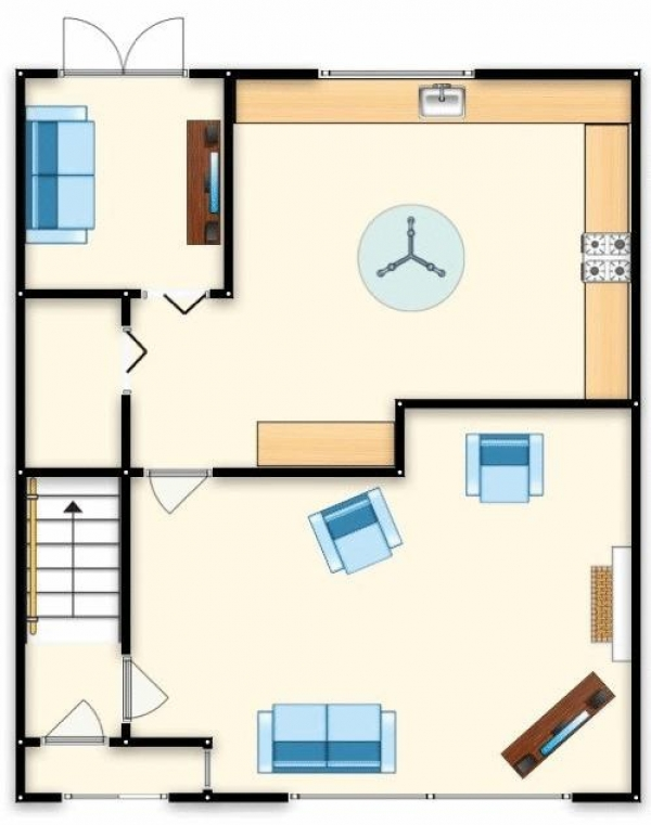 Floor Plan Image for 3 Bedroom Terraced House for Sale in Gladstone Street, Swinton, Manchester