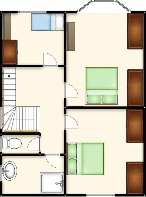 Floor Plan Image for 3 Bedroom Semi-Detached House for Sale in Manchester Road, Clifton, Swinton, Manchester