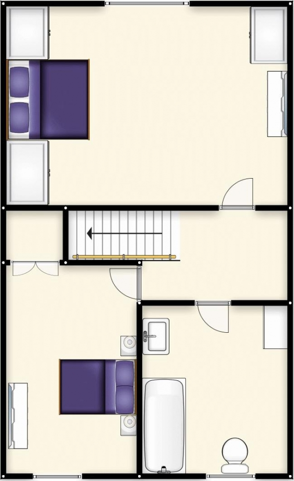 Floor Plan Image for 2 Bedroom Terraced House for Sale in Hope Street, Swinton, Manchester