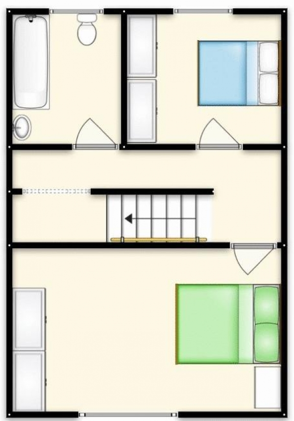 Floor Plan Image for 2 Bedroom Terraced House for Sale in Pendlebury Road, Swinton, Manchester