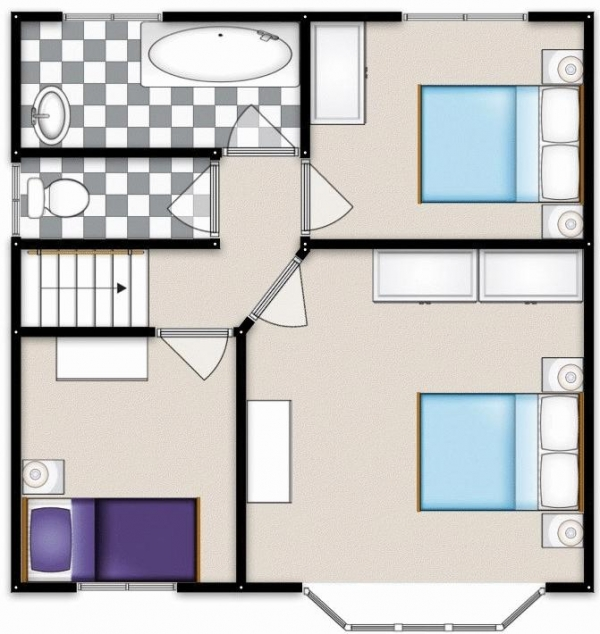 Floor Plan Image for 3 Bedroom Semi-Detached House for Sale in Chelford Drive, Swinton, Manchester
