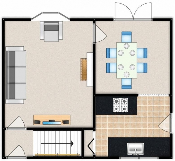 Floor Plan Image for 3 Bedroom Semi-Detached House for Sale in Cherry Drive, Swinton, Manchester