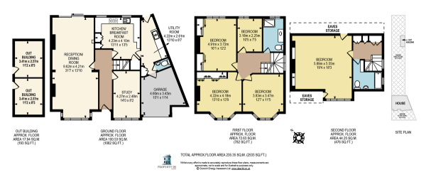 Floor Plan Image for 5 Bedroom Semi-Detached House for Sale in Valleyfield Road, London