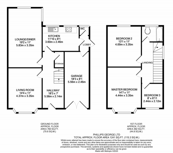 Floor Plan Image for 3 Bedroom Semi-Detached House for Sale in Dale Avenue, Wigston, Leicester