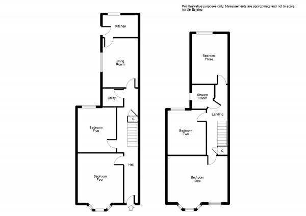Floor Plan Image for 5 Bedroom Terraced House for Sale in Melville Road, Coventry