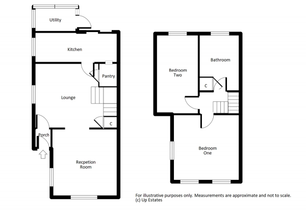 Floor Plan Image for 2 Bedroom Cottage for Sale in Lentons Lane, Coventry