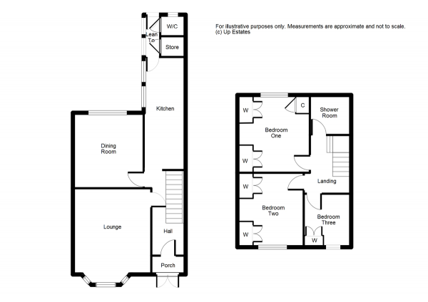 Floor Plan Image for 3 Bedroom Terraced House for Sale in Durbar Avenue, Coventry