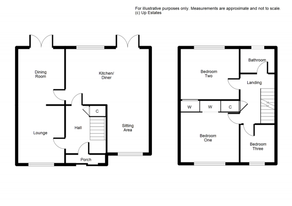 Floor Plan Image for 3 Bedroom Semi-Detached House for Sale in Cottesbrook Close, Binley, Coventry