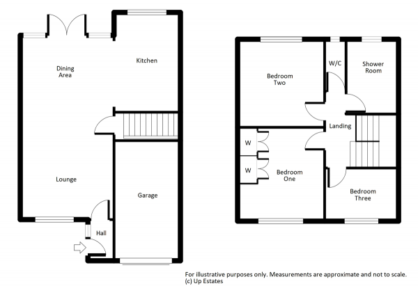 Floor Plan Image for 3 Bedroom Semi-Detached House for Sale in High Street, Ryton On Dunsmore, Coventry