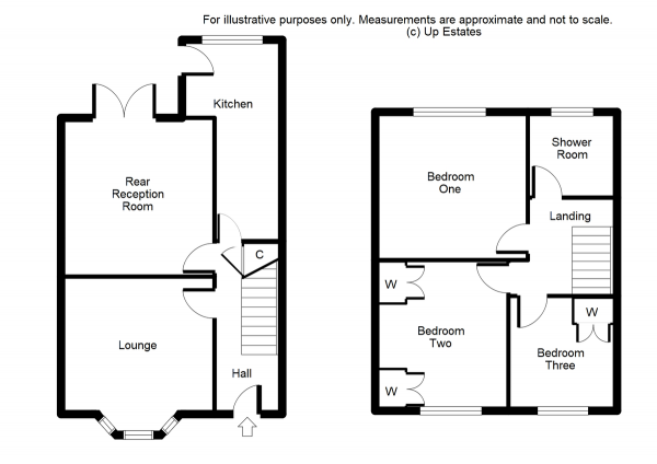 Floor Plan Image for 3 Bedroom Semi-Detached House for Sale in Richmond Road, Nuneaton