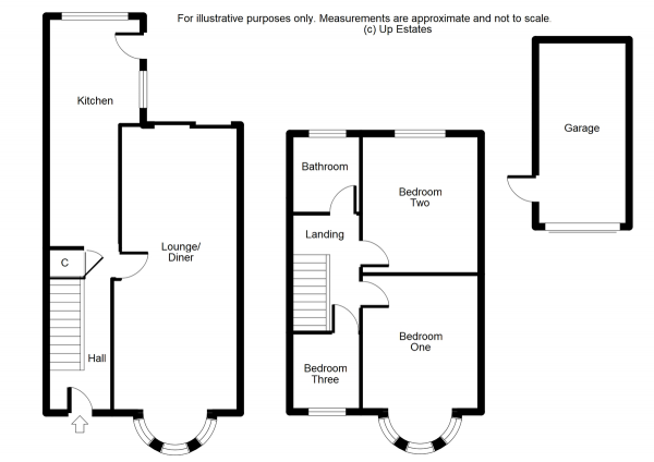 Floor Plan Image for 3 Bedroom Semi-Detached House for Sale in Silverdale Close, Coventry