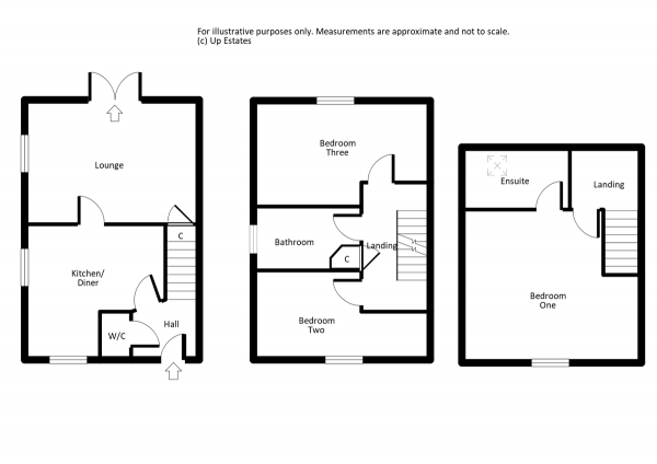 Floor Plan Image for 3 Bedroom Detached House to Rent in Petitor Crescent, Coventry