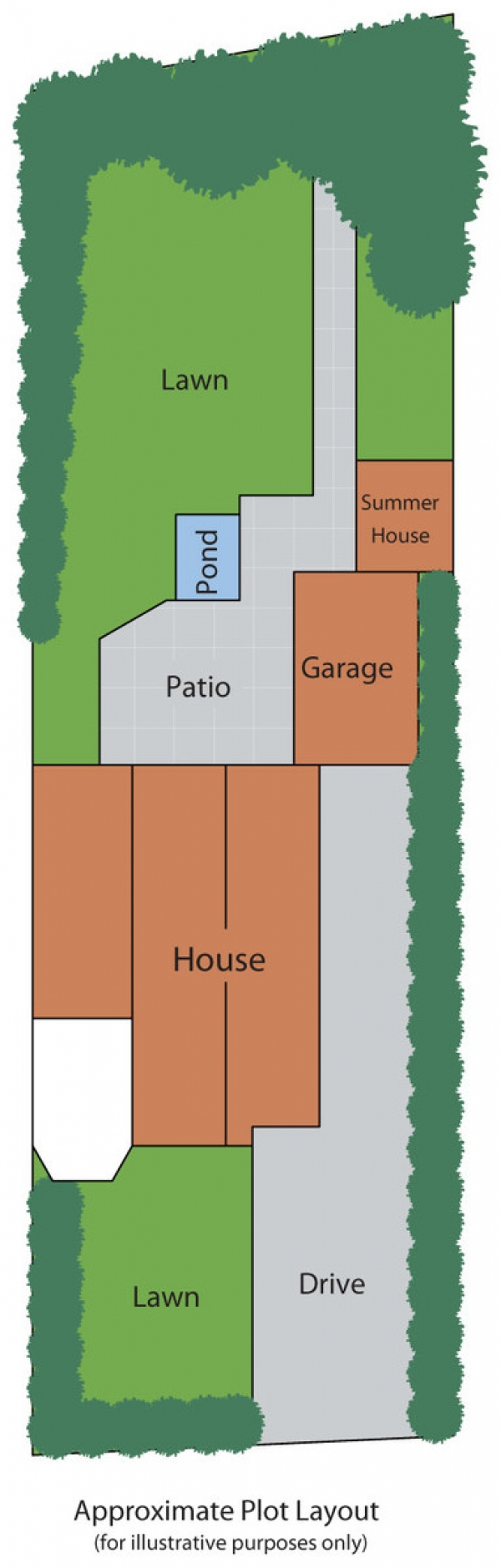 Floor Plan Image for 4 Bedroom Detached House for Sale in The Sycamores, Bramhope