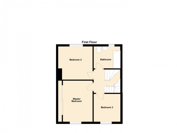 Floor Plan Image for 3 Bedroom Terraced House for Sale in Lynholme Gardens, Low Fell