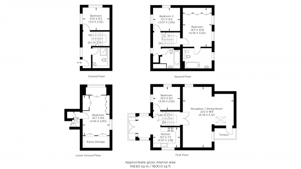 Floor Plan Image for 5 Bedroom Detached House for Sale in Maynards Quay, Wapping E1W