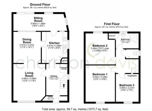 Floor Plan Image for 3 Bedroom Semi-Detached House for Sale in Forris Avenue, Hayes, Middlesex, UB3 2AS