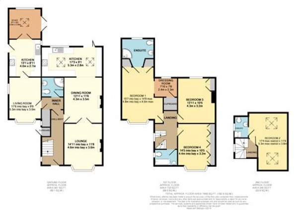 Floor Plan Image for 4 Bedroom Semi-Detached House for Sale in Heworth Hall Drive, Heworth, YORK