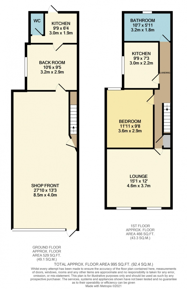 Floor Plan Image for Commercial Property for Sale in Oxford Road, Reading