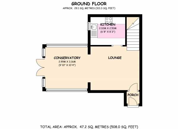Floor Plan Image for 1 Bedroom Cluster House for Sale in Church View, Newport Pagnell, Buckinghamshire