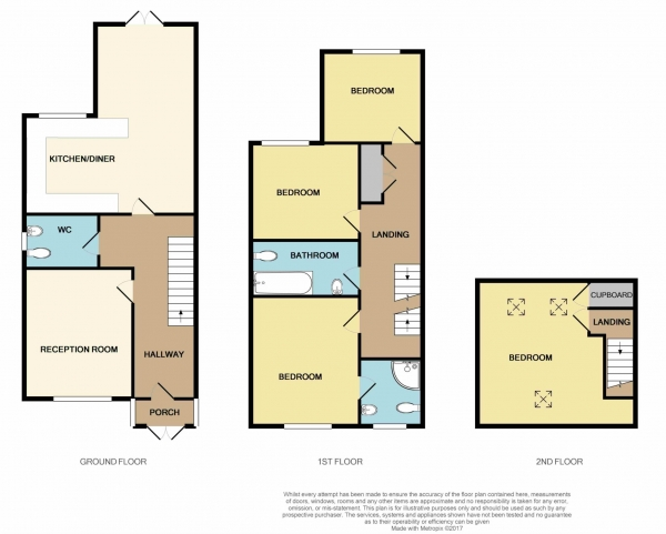 Floor Plan Image for 4 Bedroom Detached House for Sale in Sewardstone Road, Chingford