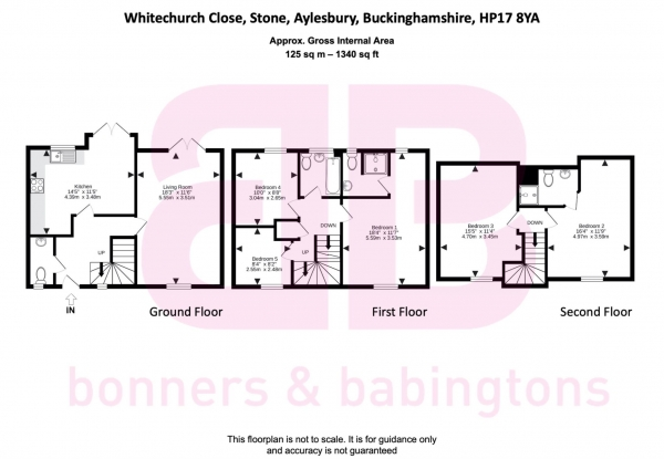 Floor Plan Image for 5 Bedroom Detached House for Sale in Whitechurch Close, Stone