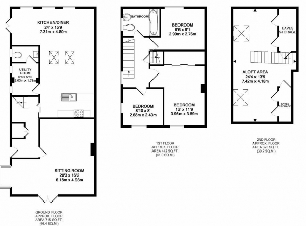 Floor Plan Image for 3 Bedroom Semi-Detached House for Sale in Chequers Close, Pitstone