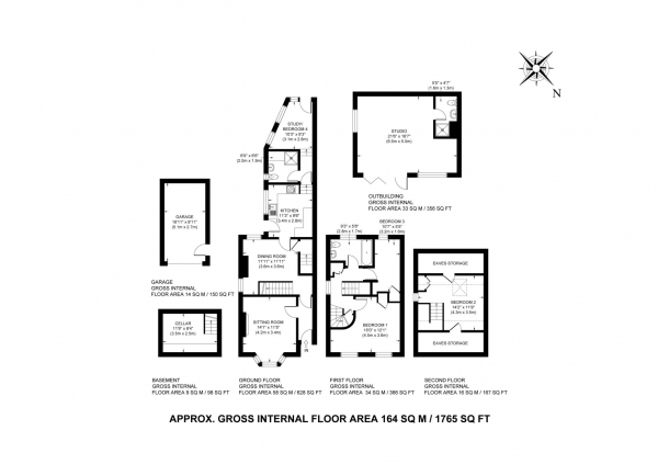 Floor Plan Image for 4 Bedroom Semi-Detached House for Sale in Miswell Lane, Tring