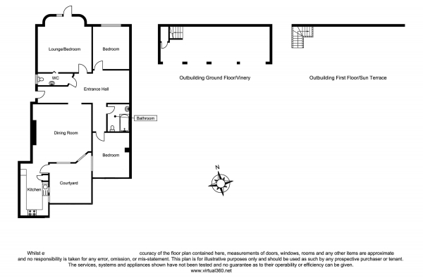 Floor Plan Image for 3 Bedroom Ground Flat for Sale in Cromwell Road, Hove