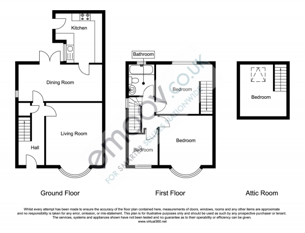 Floor Plan Image for 3 Bedroom Semi-Detached House for Sale in Lavender Road, Middlesbrough