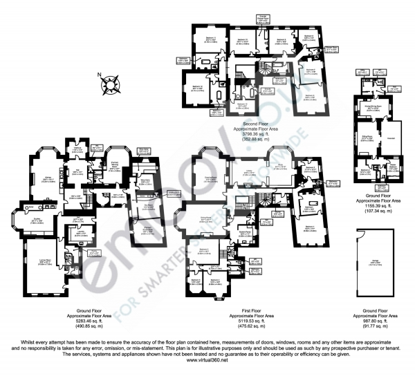 Floor Plan Image for 13 Bedroom Detached House for Sale in Aberargie, Perth