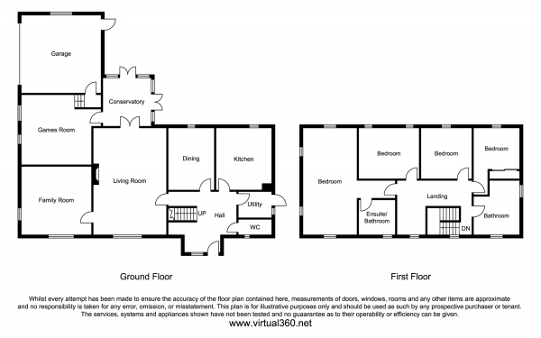 Floor Plan Image for 4 Bedroom Detached House for Sale in Eastwood Road, Rayleigh, Essex