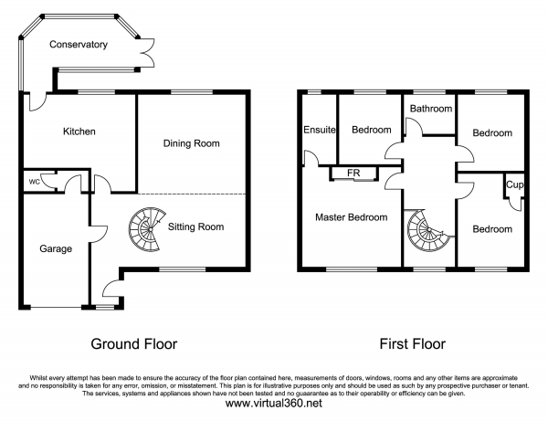 Floor Plan Image for 4 Bedroom Barn for Sale in Woods Barn, Brickwall Green, Sefton Village, Liverpool