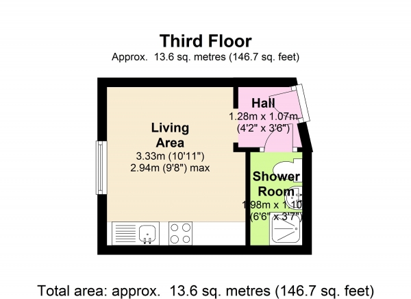Floor Plan Image for Apartment for Sale in Belgrave Road, London SW1V