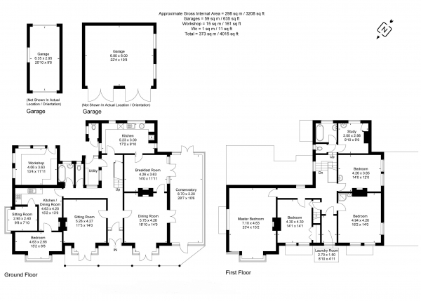 Floor Plan Image for 5 Bedroom Detached House for Sale in Fourth Avenue, Havant