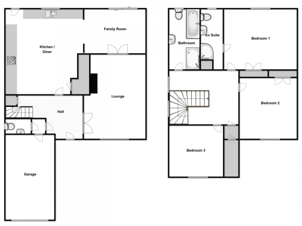 Floor Plan Image for 3 Bedroom Detached House for Sale in Point Clear Road, Clacton-On-Sea
