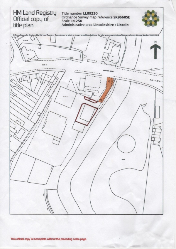 Floor Plan Image for Commercial Property for Sale in Newark Road, Lincoln, LN6 8RP