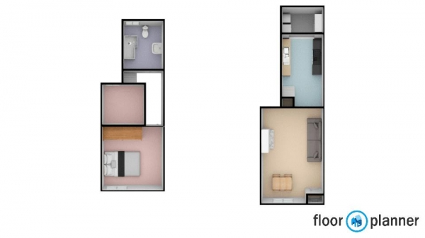 Floor Plan Image for 2 Bedroom End of Terrace House for Sale in Marshall Lake Road, Solihull