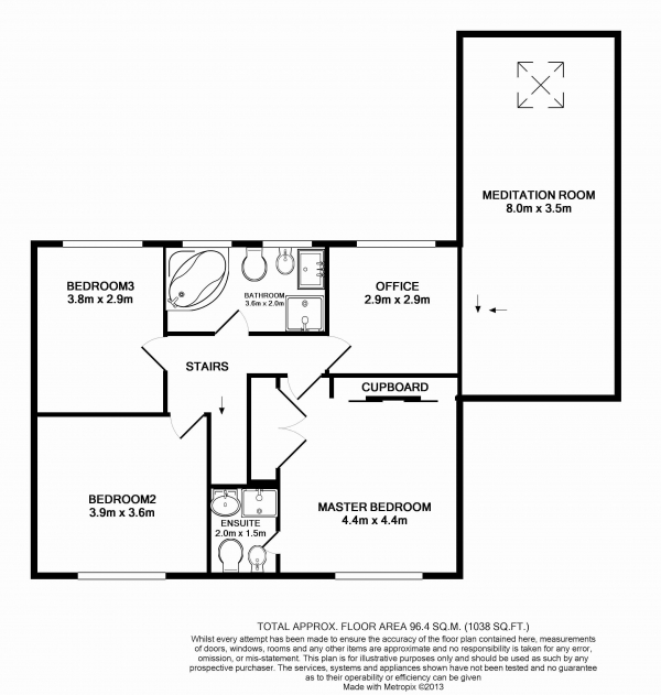 Floor Plan Image for 6 Bedroom Detached House for Sale in Zealand Avenue, Harmondsworth, West Drayton