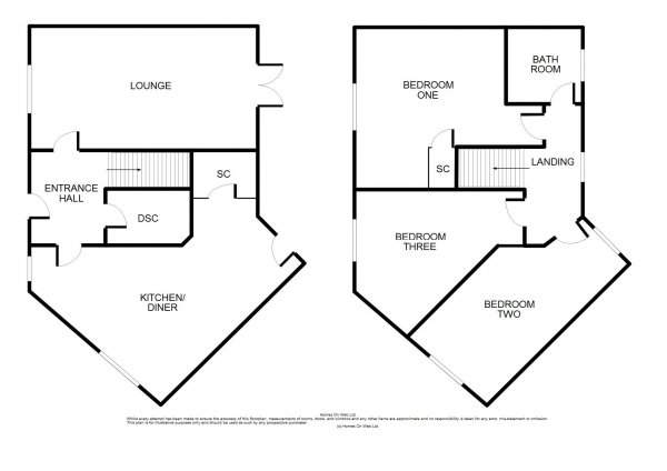 Floor Plan Image for 3 Bedroom Terraced House for Sale in Rounding Mews, Upton