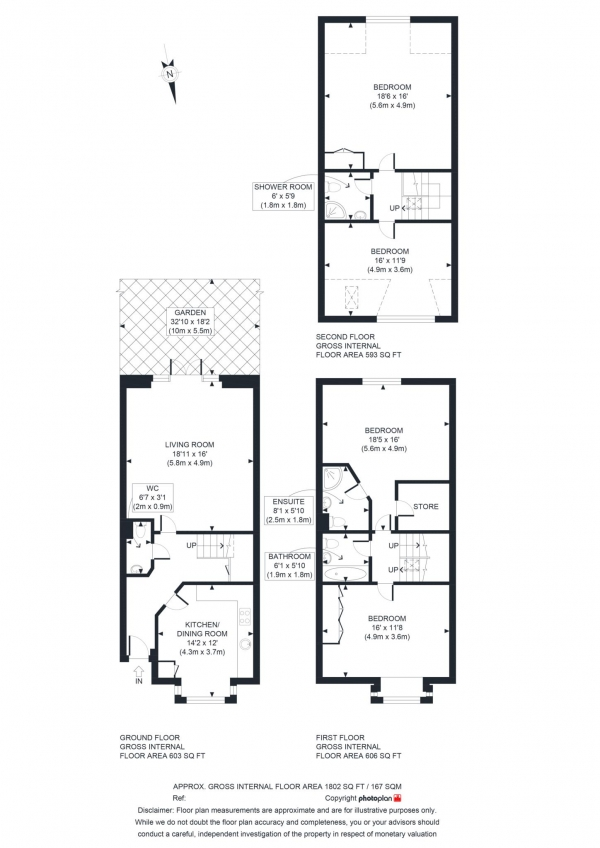 Floor Plan Image for 4 Bedroom Semi-Detached House for Sale in Edgeway Road, Marston
