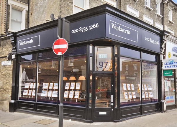 Winkworth Estate Agents - Shepherd Bush Office, London, W12