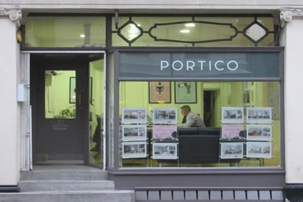 Portico - Bloomsbury, London, WC1A