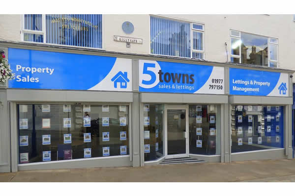 5 Towns Sales & Lettings - Pontefract, , WF8