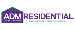 ADM Residential Estate Agents Logo